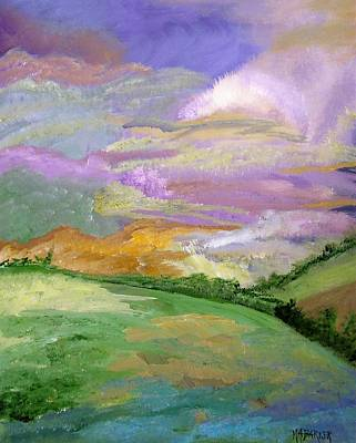 The Hills Mixed Media - The Glyn by Mary ann Barker