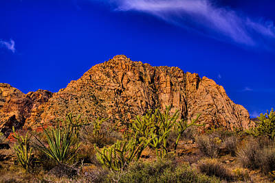 Old West Photograph - The Gorgeous Red Rock Canyon by David Patterson