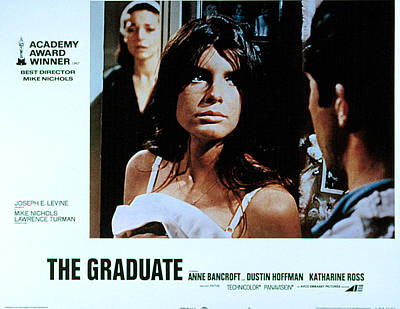 The Graduate, Anne Bancroft, Katharine Print by Everett