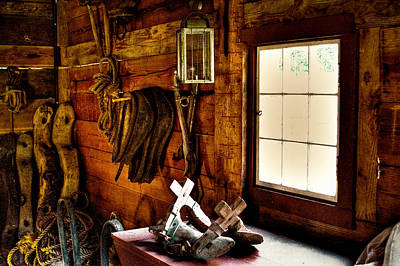 The Granary At Fort Nisqually Print by David Patterson