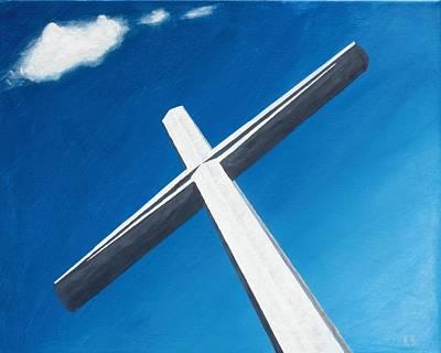 The Great Cross - Resurrection Print by Kelvin Kelley