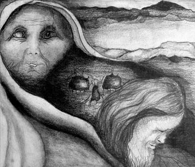 Revelation Drawing - The Great Lie by Rory Sagner