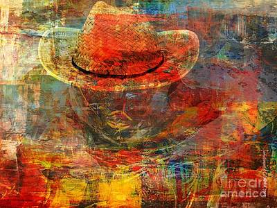 Faniart Africa America Painting - The Greatest Hope Is Not The Hat by Fania Simon