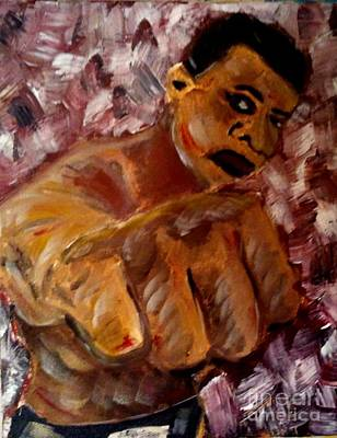 Painting - The Greatest by J Von Ryan