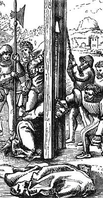 The Guillotine, 18th Century Print by Science Source