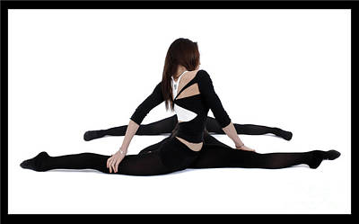 Gymanstic Photograph - The Gymnast by Pierre-jean Grouille
