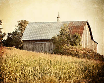 The Harvest Barn Print by Lisa Russo