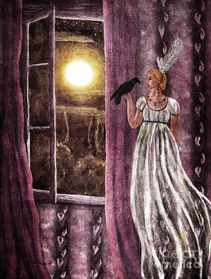 The Haunted Parlor Print by Laura Iverson