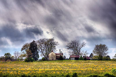 Bristersburg Virginia Photograph - The Homestead by JC Findley