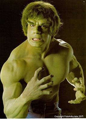 The Hulk  Print by Jake Hartz