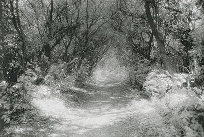 Creepy Photograph - The Icknield Way by Simon Marsden