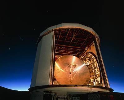 Tele Photograph - The James Clerk Maxwell Telescope (jcmt) by David Nunuk