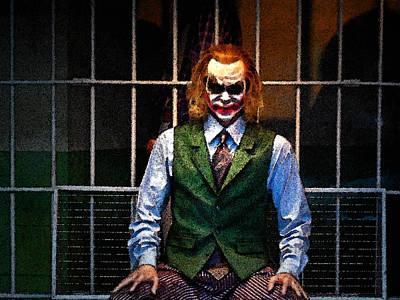 Heath Ledger Photograph - The Joker 2 by Cyryn Fyrcyd