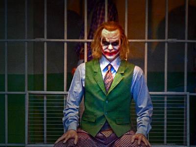 Heath Ledger Photograph - The Joker by Cyryn Fyrcyd