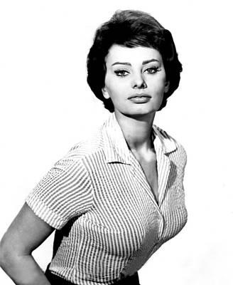 The Key, Sophia Loren, 1958 Print by Everett