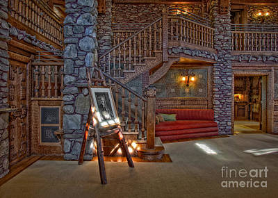 The King's Living Room Print by Susan Candelario