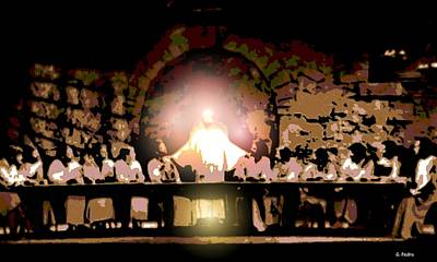 the Last Supper Print by George Pedro