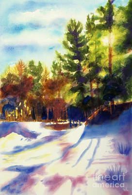 The Last Traces II Original by Kathy Braud