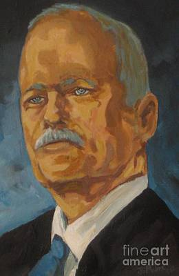 Malone Painting - The Late Honorable Jack Layton by John Malone