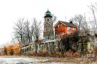 The Lighthouse Print by Ken Marsh