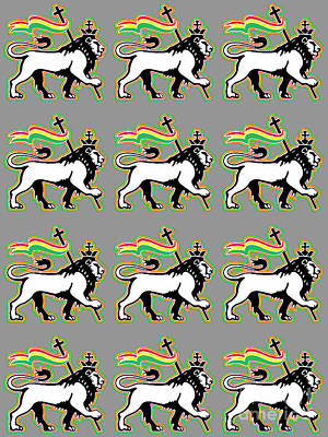 Stanley Slaughter Digital Art - The Lion Of Judah by Stanley Slaughter Jr