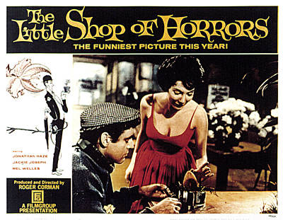 The Little Shop Of Horrors, Jonathan Print by Everett