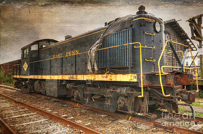 The Locomotive Print by Paul Ward