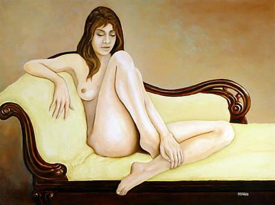 The Long Pose Original by Tom Morgan