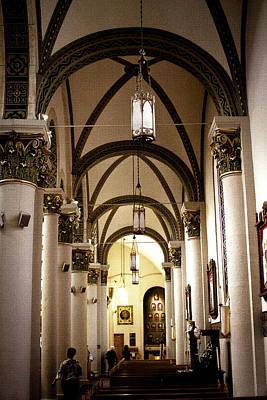 Church Photograph - The Loretto Chapel In Santa Fe by David Patterson