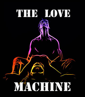 Innocence Painting - The Love Machine by Steve K