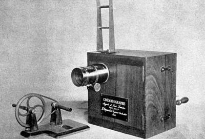 Lumiere Photograph - The Lumiere Cinematographe, Invented by Everett