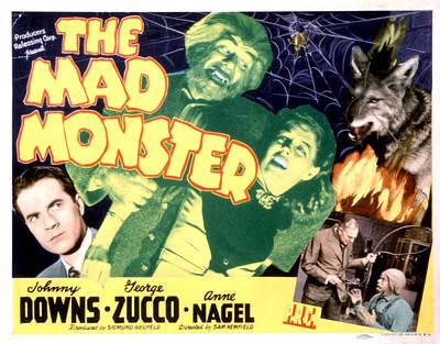 The Mad Monster, Johnny Downs, Glenn Print by Everett