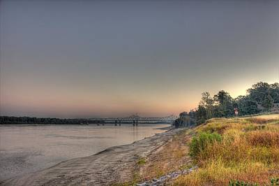 Sunrise Photograph - The Mighty Mississippi by Barry Jones