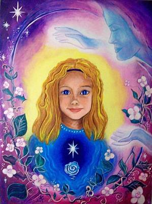 The Mother Blessing Print by Shirley Cunningham