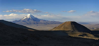 South America Photograph - The Mountain Sajama. Department Of Oruro. Republic Of Bolivia. by Eric Bauer
