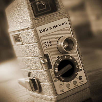 8mm Photograph - The Movie Camera by Mike McGlothlen