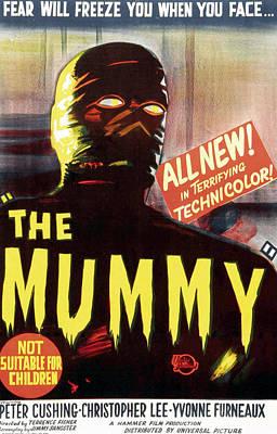 The Mummy, Austrailian One Sheet Print by Everett