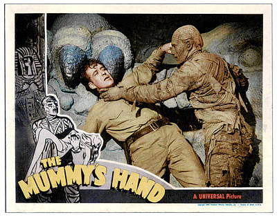 The Mummys Hand, From Left Dick Foran Print by Everett