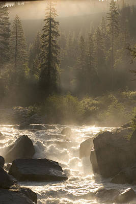The North Fork Of The Stanislaus River Print by Phil Schermeister