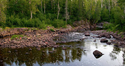 Temperance River Photograph - The North Woods by Steve Stuller