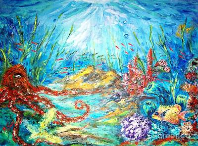 Painting - The Ocean by Mary Sedici