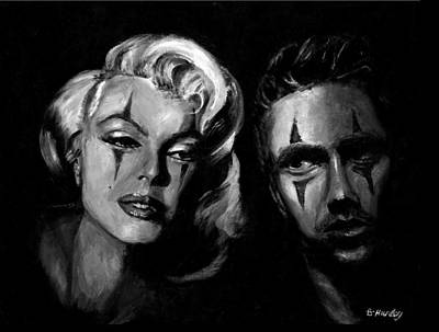 Marilyn Monroe And James Dean Painting - The Odd Couple by Brandon Hurley
