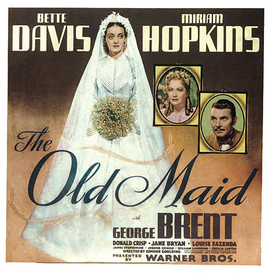 The Old Maid, Bette Davis, Miriam Print by Everett