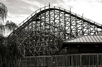 The Old Roller Coaster IIi Original by Dieter  Lesche