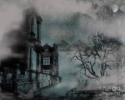 The Old Ruins Print by Cheryl Young