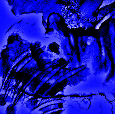 Foundation Mixed Media - The Origins Of Blue by Rory Sagner
