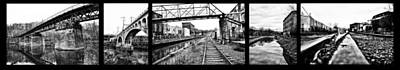 The Other Side Of Manayunk Print by Bill Cannon