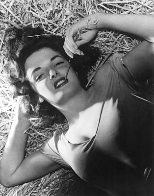 Hurrell Photograph - The Outlaw, Jane Russell, 1943, Photo by Everett