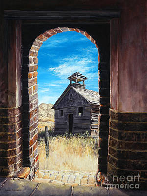 The Past Print by Lynette Cook