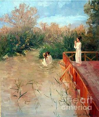 The Place Of The Baptism Original by Nadiya Pinchuk